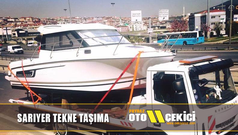Sarıyer tekne taşıma