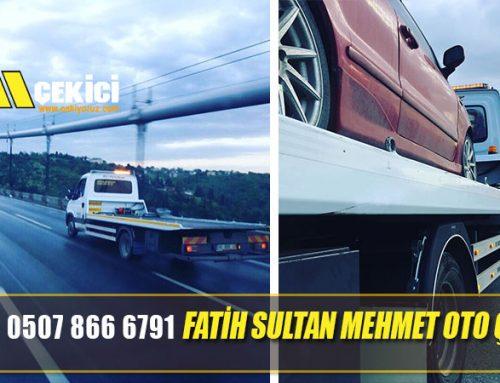 Fatih Sultan Mehmet Köprüsü Oto Çekici