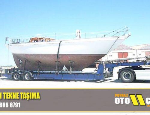 Bostancı Tekne Taşıma