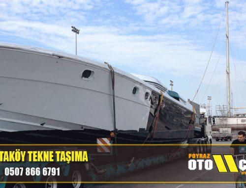 Ortaköy Tekne Taşıma
