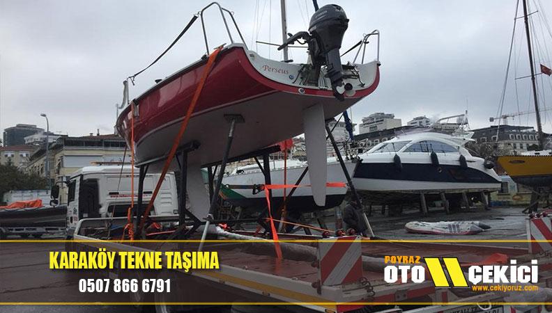 karaköy tekne taşıma